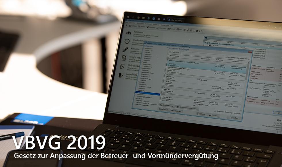 VBVG 2019 - Anpassung der Betreuer- und Vormündervergütung